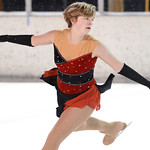 Katelyn Kayser performs a dramatic program on the ice during Sheridan Ice's 6th Annual Ice Show Wednesday night at Sheridan Ice. This was the last ice show to be featured in the outdoor ic ...