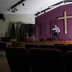 Matthew Gaston | The Sheridan PressPastor Tony Forman sits in the sactuary at Conerstone Community Church hopeful that we, as a whole, will gain a new perspective on our rights and our respo ...