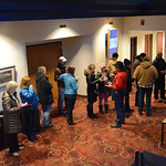 Justin Sheely | The Sheridan Press Rodeo fans line up at the box office to purchase tickets on the opening day for Sheridan WYO Rodeo ticket sales Friday morning at the WYO Theater. Every ye ...