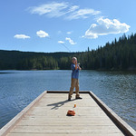 Justin Sheely | The Sheridan Press Ten-year-old Myles Walden casts a line during the Sheridan Recreation District's fishing youth program Wednesday at Sibley Lake in the Bighorn National F ...