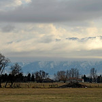 Justin Sheely | The Sheridan Press Clouds break in front of the face of the Bighorn mountains Tuesday morning near Big Horn. Rain is expected on Thursday followed by sunny weather into the w ...
