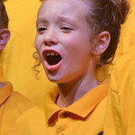 "Justin Sheely | The Sheridan Press Amya Neerimer of the Youth Chorale sings during the Sheridan County Youth and Children's Chorale Tuesday at the WYO Theater. This year's theme, ""Unit ..."