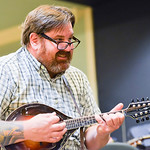 Justin Sheely | The Sheridan Press Scott Schroder plays the mandolin during the Bluegrass Old Timey Jam Tuesday evening at the Sheridan Senior Center. The musicians meet every third Wednesda ...