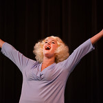 "Justin Sheely | The Sheridan Press Brekken Baker, as Maggie, sings during a rehearsal to the WYO Theater Gala ""Lend Me a Tenor"" Tuesday at the WYO Theater. The Gala reception is this Sat ..."