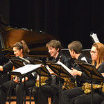 "Justin Sheely | The Sheridan Press Students flip their music sheets between songs during the Band Department's ""All That Jazz"" concert night Thursday at the Sheridan High School Sue He ..."