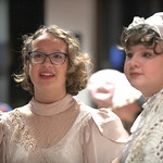Matthew Gaston | The Sheridan PressLibby Smith, left, and Grace Smith prepare to take part in a living history performance on the 150th anniverary of Wyoming women's suffrage Tuesday, Dec. ...