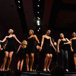 Justin Sheely | The Sheridan Press Miss Wyoming hopefuls take the stage after the intermission during the 2016 Miss Wyoming pageant Saturday night at the WYO Theater. Miss South Central Jord ...
