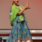 Justin Sheely | The Sheridan Press Miss Northeast Wyoming Nicole Patel does a cultural dance for the talent portion during the 2016 Miss Wyoming pageant Saturday night at the WYO Theater. Mi ...