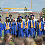 Justin Sheely | The Sheridan Press Spectrum choir sings during the 2016 commencement ceremony Sunday afternoon at Sheridan High School.