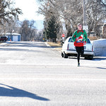 Matthew Gaston   The Sheridan Press16-year-old Jason Barron was the first to finish the Tongue River Valley Community Center's Ugly Sweater Run in Ranchester with a time of 20 mintues and  ...