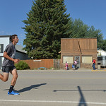 Justin Sheely | The Sheridan Press Rion Szatkowski competes in the mile run during the 40th annual Dayton Days Saturday in the town of Dayton. The upper-ninety-degree weather did not stop To ...