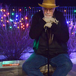 Justin Sheely | The Sheridan Press Bill Charles sits on a bench during the 5th annual Ucross Christmas Celebration at the Raymond Plank Creative Center at Ucross Saturday, Dec. 9, 2017.