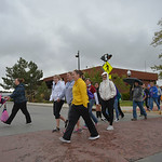 Justin Sheely | The Sheridan PressParticipants walk during the 6th annual Out of the Darkness walk Saturday in downtown Sheridan. The event was organized by the Wyoming Chapter of the Ameri ...