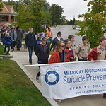 Justin Sheely | The Sheridan PressParticipants set out on the loop during the 6th annual Out of the Darkness walk Saturday at the YMCA. The event was organized by the Wyoming Chapter of the ...