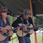 Justin Sheely | The Sheridan Press Ann Lowe and Andy Lowe of Sheridan perform during the Summer Festival Saturday at Antelope Butte ski area. The Antelope Butte Foundation hosted a variety o ...