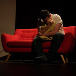 Matthew Gaston | The Sheridan PressWill, played by Levi-Lucas Shumaker, falls apart as he faces his feelings about losing Heather and the baby during the dress rehearsal for Sheridan College ...