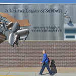Justin Sheely | The Sheridan PressA person walks past the expanded space during the grand unveiling and opening ceremony Wednesday at The Hub on Smith, formerly the Sheridan Senior Center.  ...