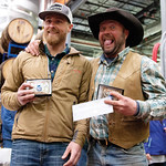 Matthew Gaston   The Sheridan PressFrom left, skier Cody VanOrden and rider Cal Douglas took first place in the novice class at the first ever Sheridan WYO Winter Rodeo Saturday, Feb. 23, 20 ...