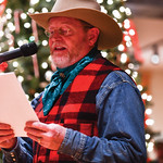 Matthew Gaston | The Sheridan PressAuthor Craig Johnson reads from a selection of humorous short stories that will be published next during the Ucross Community Christmas Celebration Saturda ...