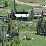Justin Sheely | The Sheridan Press Volunteers cleanup the grounds during a workday Saturday at Antelope Butte ski area in the Bighorn mountains. Dozens of volunteers from both sides of the m ...