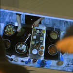 Justin Sheely | The Sheridan Press A monitor lends an overhead view of the instructor's demonstration during a cooking class at Verdello Olive Oils & Fine Foods in Sheridan Wednesday, Marc ...