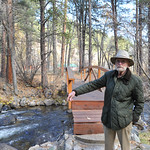 Ryan Patterson | The Sheridan Press Charles Neelley stands in his backyard in Story Wednesday, Oct. 24, 2018. Neelley served in the Navy from 1953-83 and has lived in Wyoming since 1992.