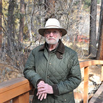 Ryan Patterson | The Sheridan Press Charles Neelley stands on a bridge in his backyard in Story Wednesday, Oct. 24, 2018. Neelley served in the Navy from 1953-83 and has lived in Wyoming sin ...