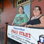 Justin Sheely | The Sheridan Press Parents Amber Cossel, left, and Amanda Lawrence have been working to save the Sheridan Absaroka Head Start from closing.