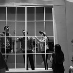 Justin Sheely | The Sheridan PressStudents, from left, Quinton Brooks, Race Johnson and Pyper Tiffany put up the window in a stage piece during set construction at Sheridan High School Sat ...