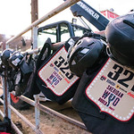 Ashleigh Fox | The Sheridan Press Eqipment awaits the wild pony racers ahead of Saturday night