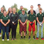 Ryan Patterson | The Sheridan Press The Tongue River golf teams include, front row, from left, Ivy Dearcorn, Taylor Mudd, Grace Sopko, Mackenzie Aksamit, Sadie Koltiska, Cole Gilbert, Camden ...