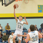 Ryan Patterson | The Sheridan PressArvada-Clearmont's Tanner Klatt shoots a layup during a game against Ten Sleep at Arvada-Clearmont High School Saturday, Jan. 19, 2019. The Panthers los ...