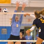 Justin Sheely | The Sheridan PressOne gets by Sheridan's Maranda Koch during the game against Laramie County Community College Friday in the Bruce Hoffman Golden Dome at Sheridan College. ...