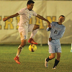 Jose Guerrero controls a pass in the first half of Sheridan College's 2-1 win over Gillette College.Ryan Patterson | The Sheridan Press