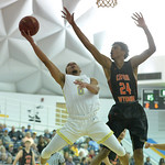 Bud Denega | The Sheridan Press Sheridan College's Josh Bagley goes in for a layup during the Generals' game against Central Wyoming College at the Bruce Hoffman Golden Dome Saturday, Fe ...