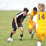 Bud Denega | The Sheridan Press Sheridan College's Luke Gluhosky chases a ball during the Generals' Region IX match against Laramie County Community College Saturday, Sept. 22, 2018. Glu ...
