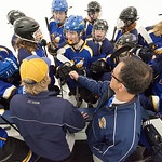 Tibby McDowell | The Sheridan Press The Sheridan Hawks get pumped up by coaches Kirk Viren and John Chase prior to taking the ice against Pindale in the semi-finals of the state hockey tourn ...