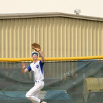 Matthew Gaston | The Sheridan PressSheridan's Justice Rees (22) makes the catch deep in centerfield against Gillette Wednesday, May 27, 2020.