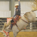 Justin Sheely | The Sheridan Press Sheridan College Rodeo Athlete Zeke Thurston rides saddle bronc during the last practice week of the season Tuesday at the Sheridan College AgriPark. Sheri ...