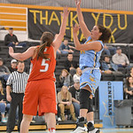 Justin Sheely | The Sheridan Press Lady General's Mar Lamadrid Coll shoots for two during the game against Northwest College Saturday in the Bruce Hoffman Golden Dome at Sheridan College.